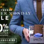 SprezzaBox Cyber Monday Sale – 40% Off Your First Month!