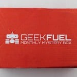 Geek Fuel Subscription Box Review + Exclusive Coupon – March 2016