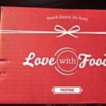 Love with Food Tasting Box Review + Coupon – May 2016