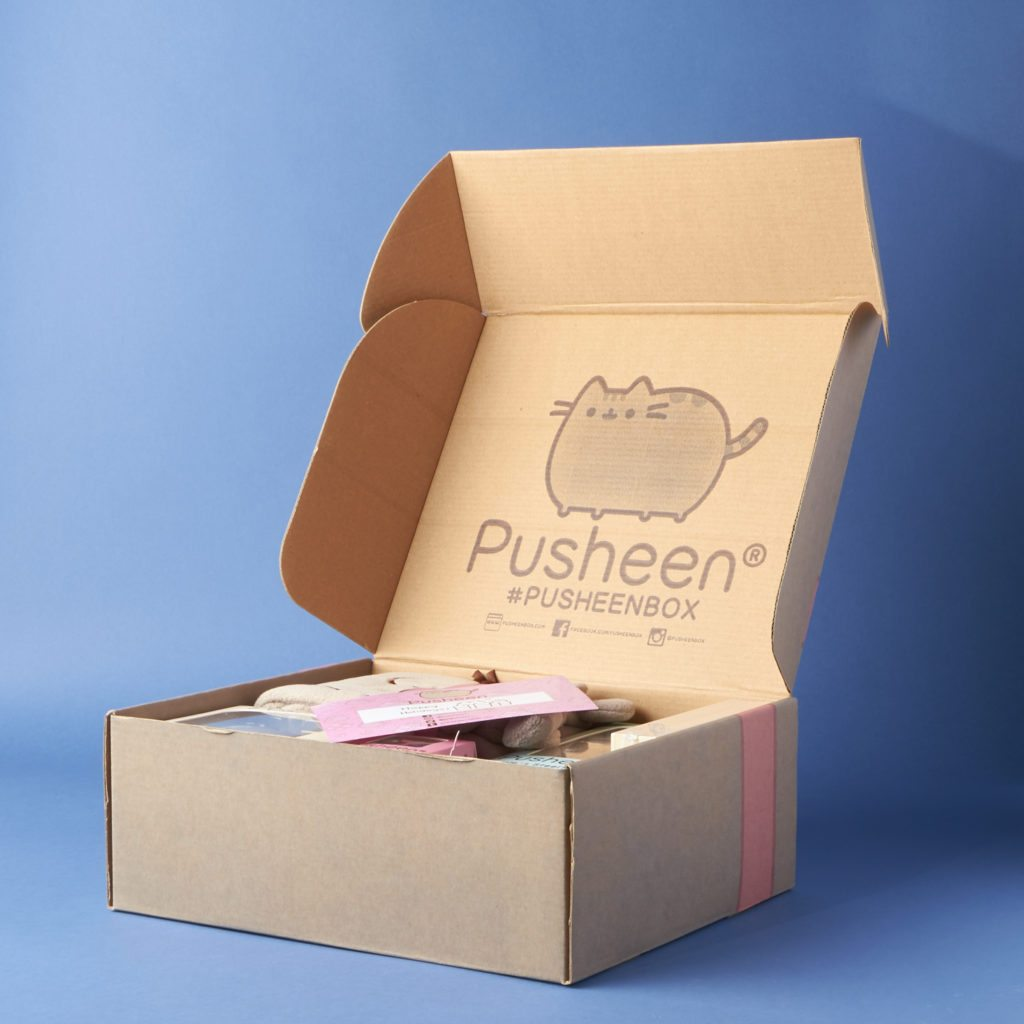 pusheen box winter 2016 subscription box review my subscription addiction. Black Bedroom Furniture Sets. Home Design Ideas