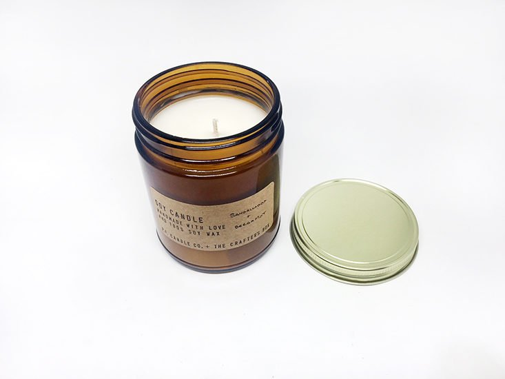 Crafters Box October 2017 - Hand Poured Candles