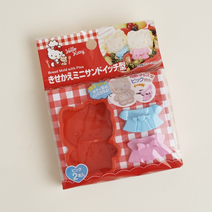 hello kitty sandwich mold in package