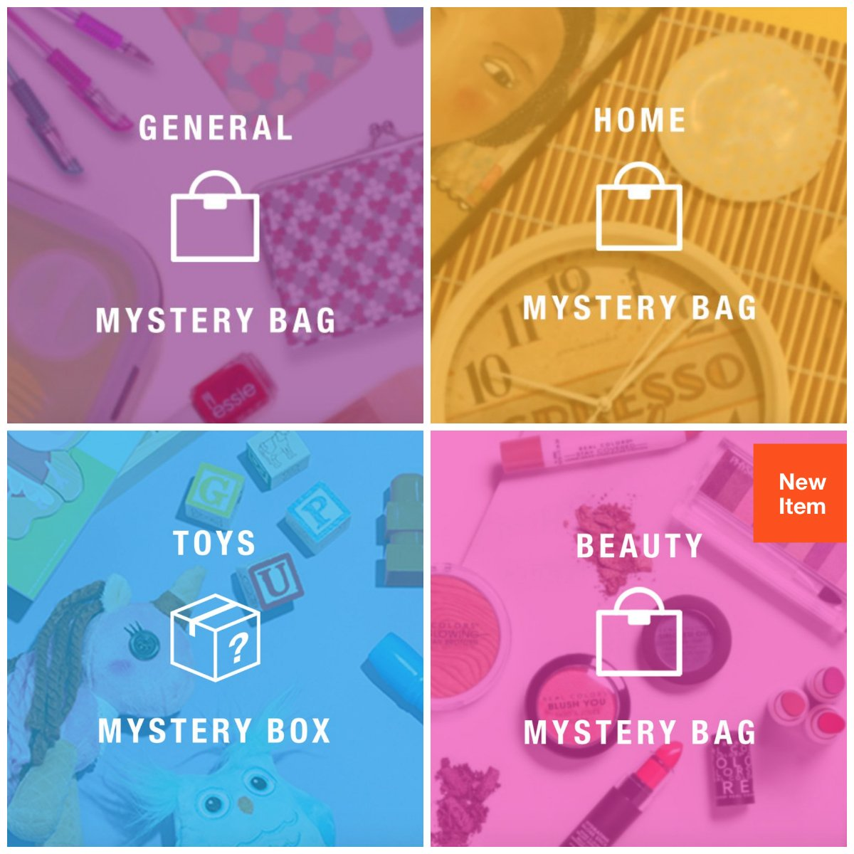 Hollar Mystery Boxes