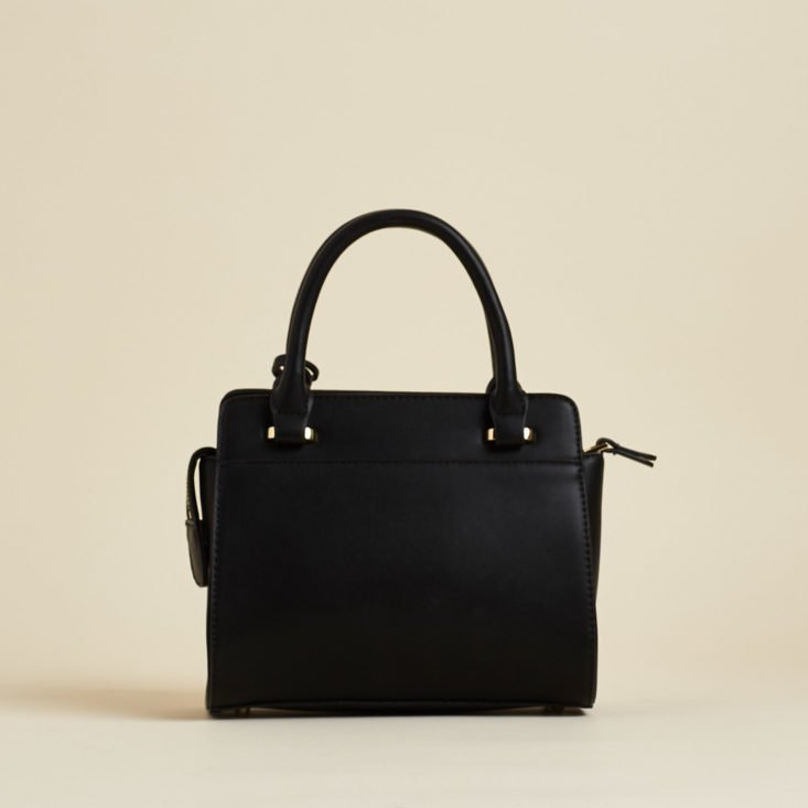 with 212 black handbag from the back
