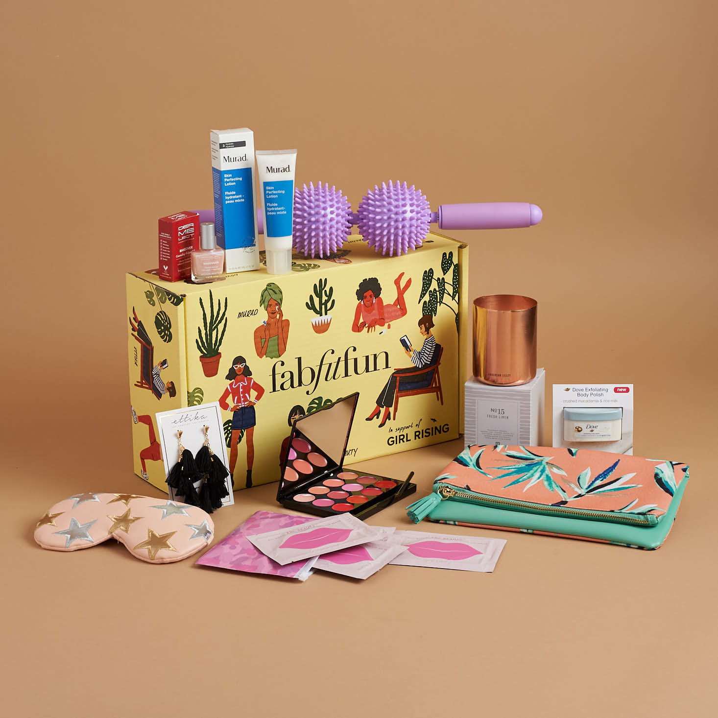 Fity Fab Fit: FabFitFun Spring 2018 Subscription Box Review + $10 Coupon