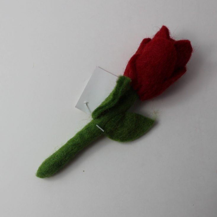 Felted Rose from Le Sharma