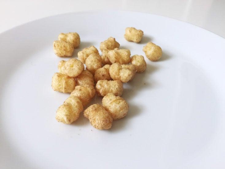 UmaiBox February 2018 Texas Corn plate