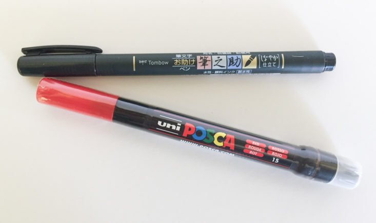 Uni-Posca PCF-350 Brush Tip Paint Marker