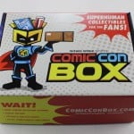 Comic Con Box Subscription Box Review – October 2015