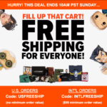 Loot Vault Flash Sale – Free Shipping On All Orders!