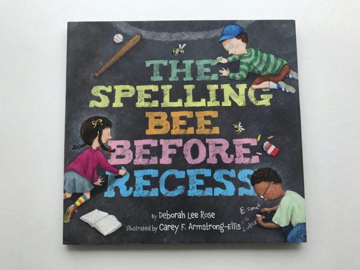 The Spelling Bee before Recess by Deborah Lee Rose book