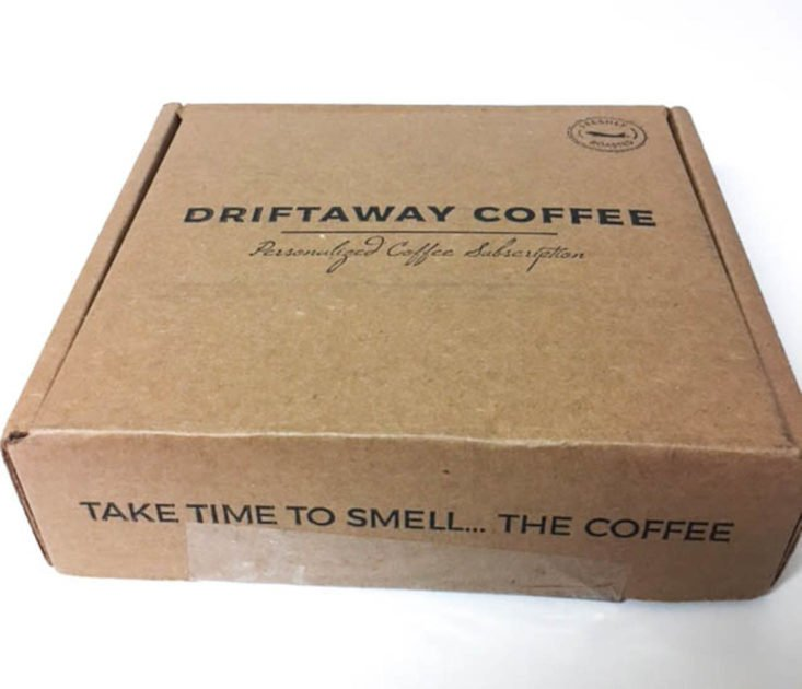 DriftAway Coffee December 2017