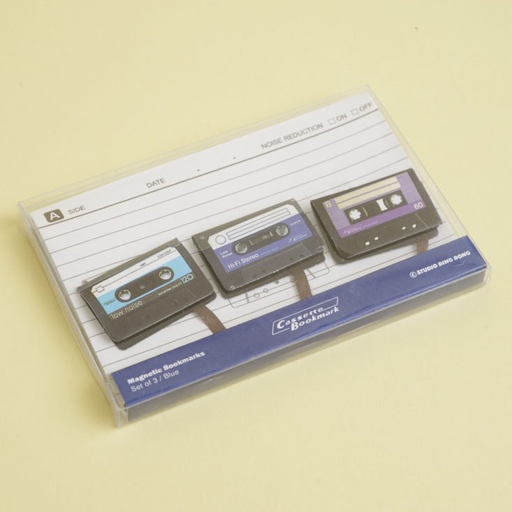 Cassette Tape Book marks in package