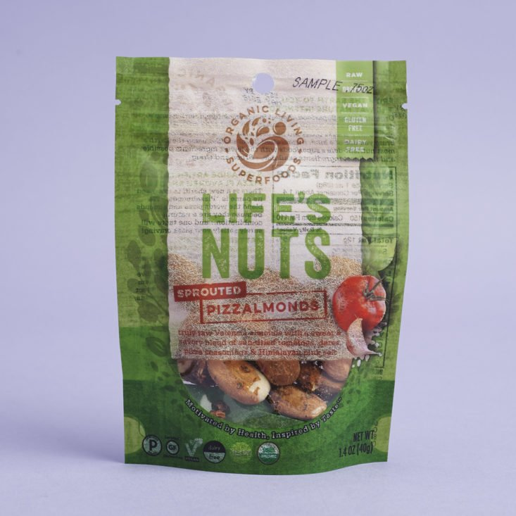 Life's Nuts Sprouted Pizzalmonds