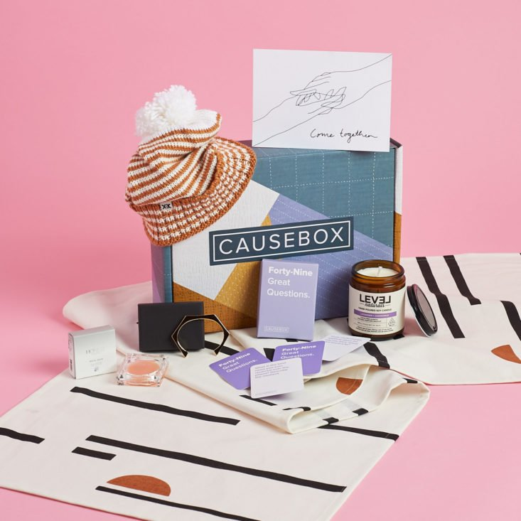 All Items In The Causebox Winter January Box
