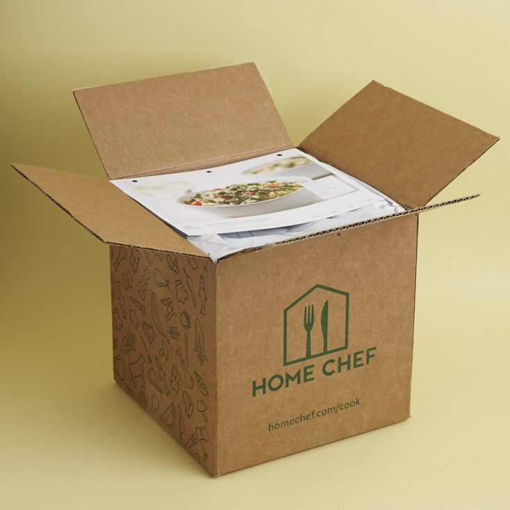home chef unboxing
