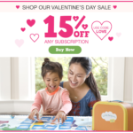 Last Day! Little Passports Valentine's Day Coupon – 15% Off Subscriptions!