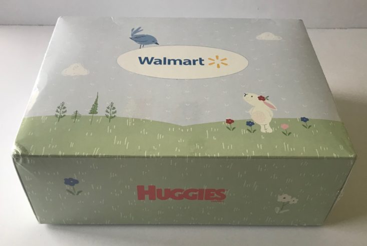 Walmart Baby Box Review- March 2018 Box closed