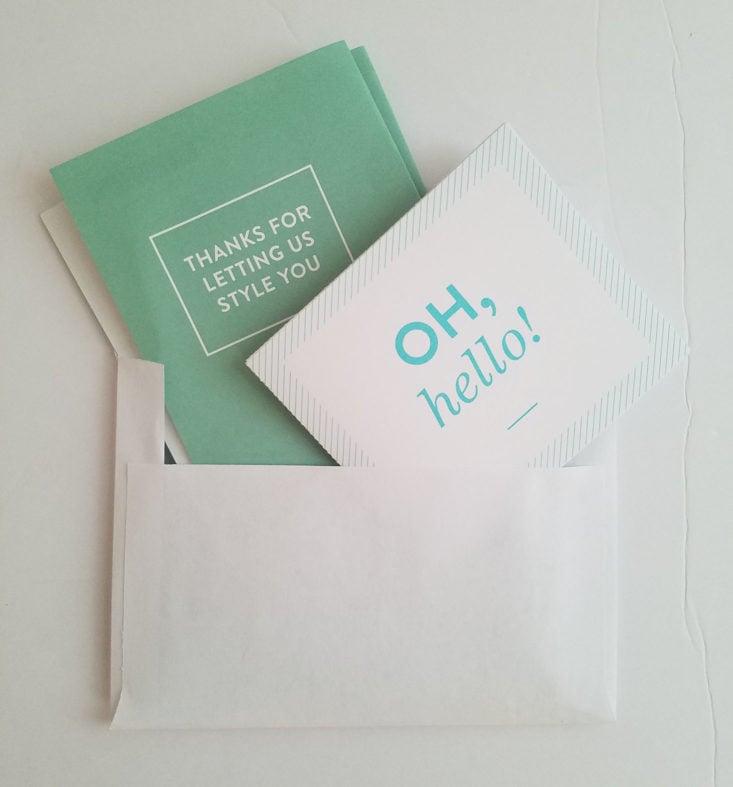 Stitch Fix Plus April 2018 Box 0003 envelope
