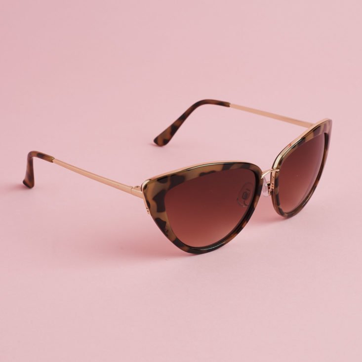 subapollo cateye sunglasses
