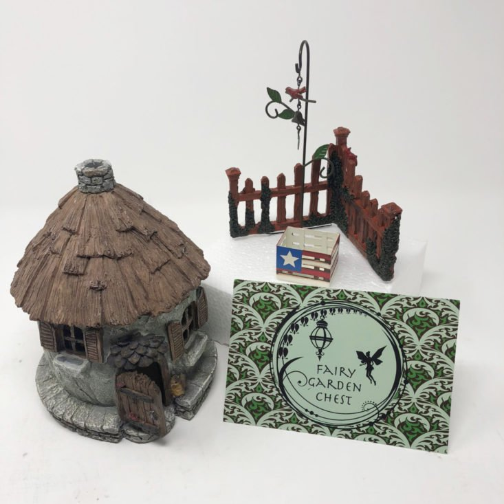 Fairy Garden Chest July 2018 review