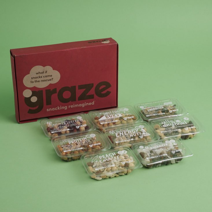 Graze August 2018 Review - 8 Snack Box