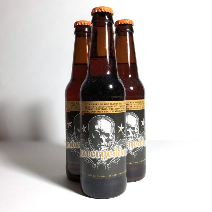 Microbrewed Beer of the Month July 2018 - ambergeddon