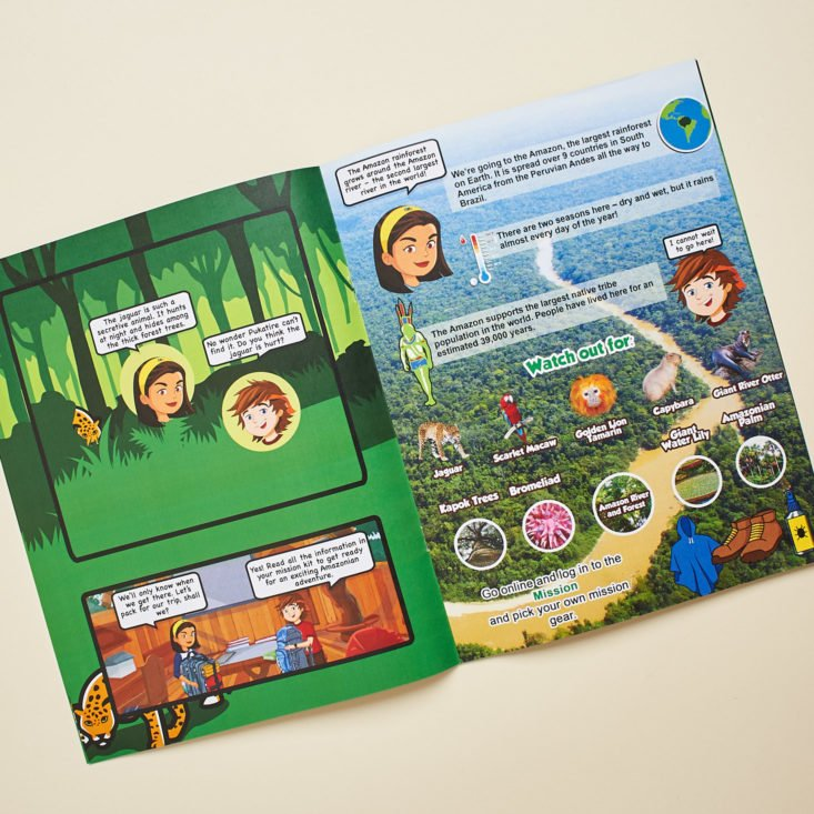 Rainforest Adventure Booklet