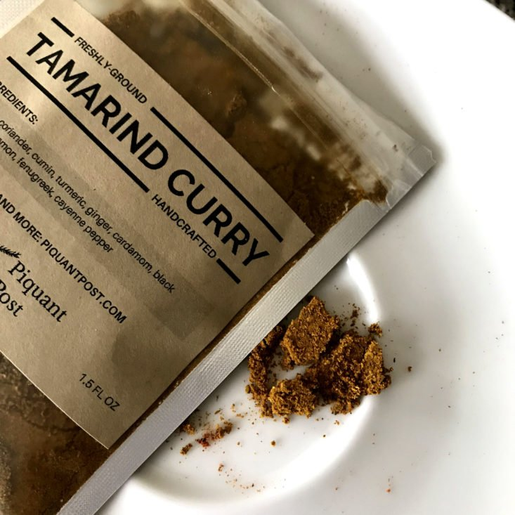 Piquant Post June 2018 - tamarind curry open