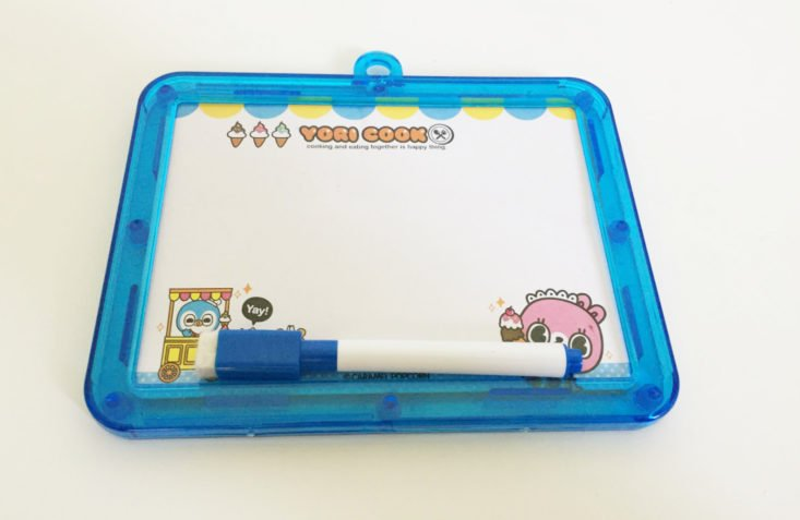 Kawaii Box August 2018 Whiteboard