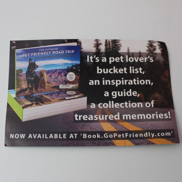 Pet Treater September 2018 Booklet Back