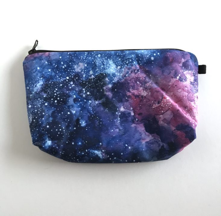BohoBabe Box October 2018 - Galaxy Makeup Bag Side 2
