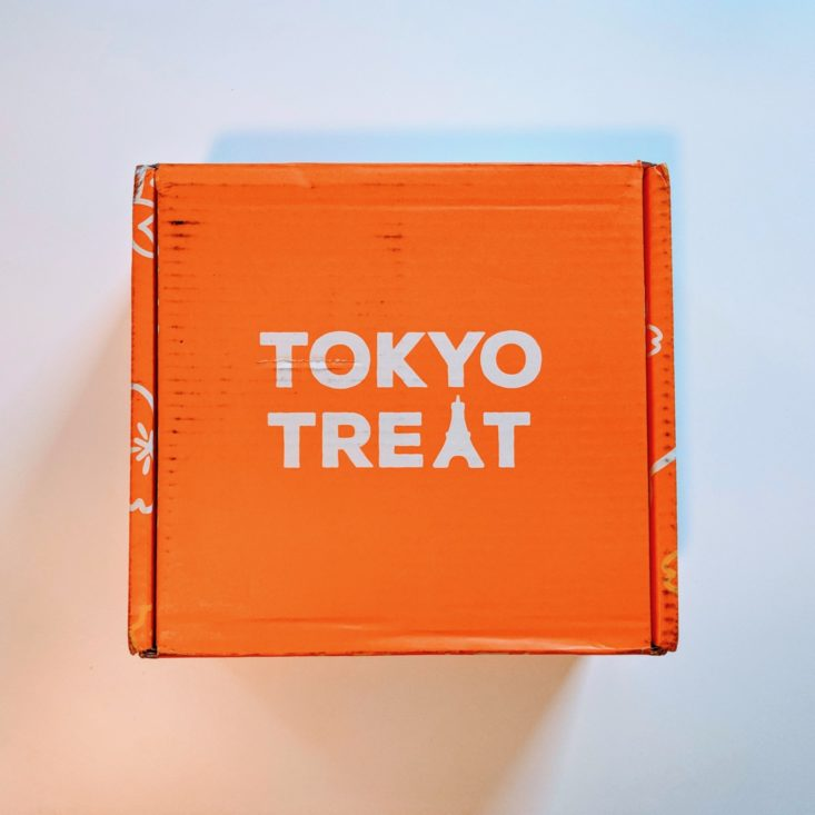 Closed Box- Tokyotreat Box view
