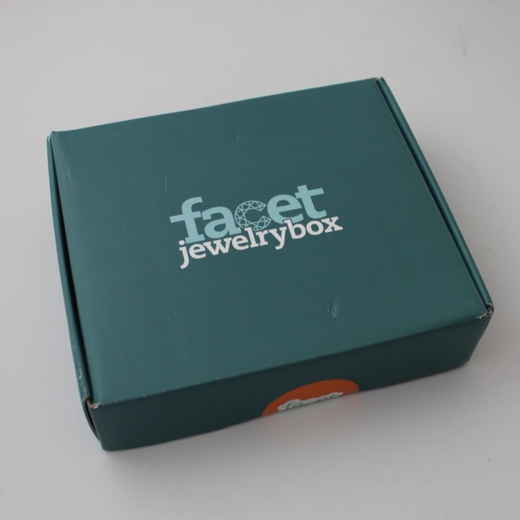 Facet Jewelry Stitching October 2018 - Unopened Box Front