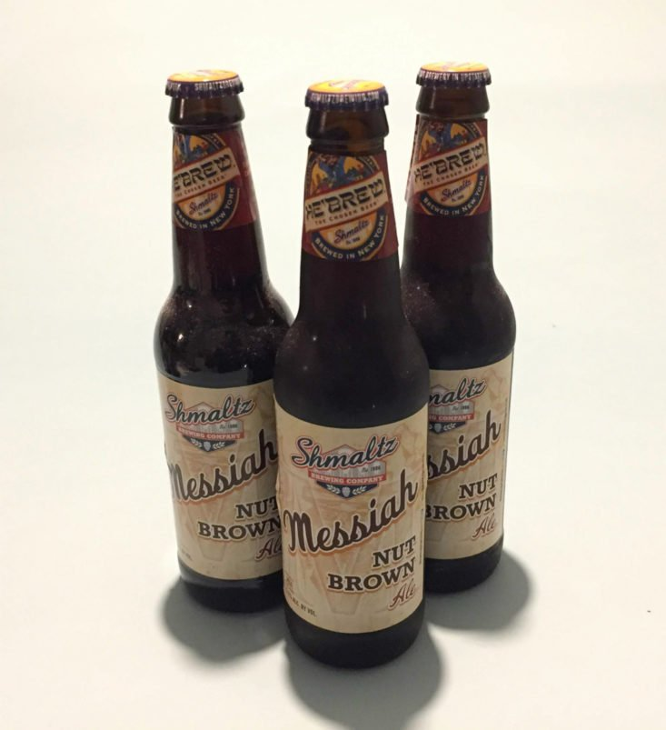 Shmaltz Messiah Nut Brown Ale