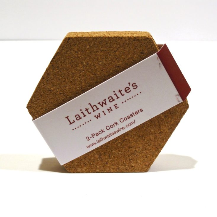 Sprezzabox October 2018 - Laithwaite's Wine Cork Coasters Unopen Front