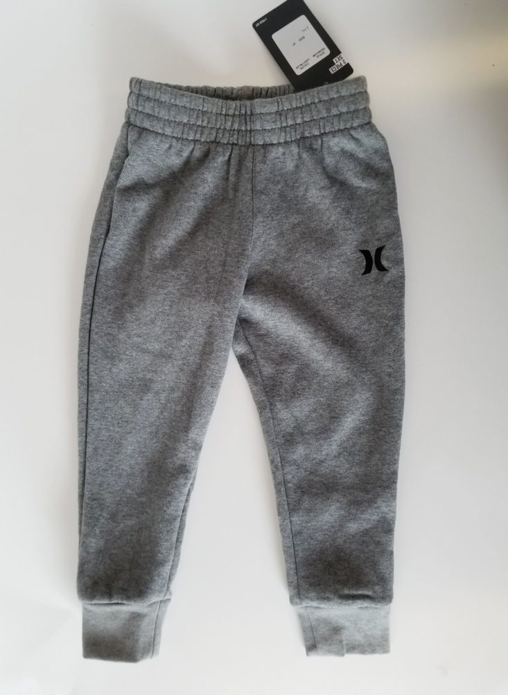Stitch Fix Kids Boy Box October 2018 hurley joggers