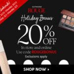 Sephora Holiday Bonus Sale – Rouge Members Get 20% Off All Sephora Favorite Kits + Entire Store!