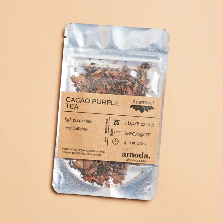 Amoda November 2018 purple tea