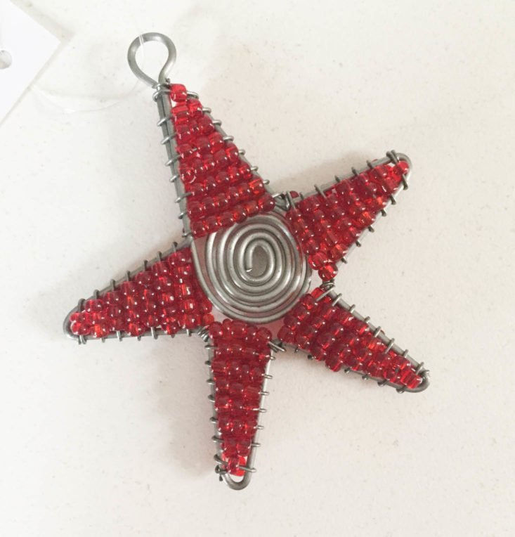 Fair Trade Friday Subscription December 2018 - Stay Ornament by Wild Hope Artisan Project, Tanzania Top