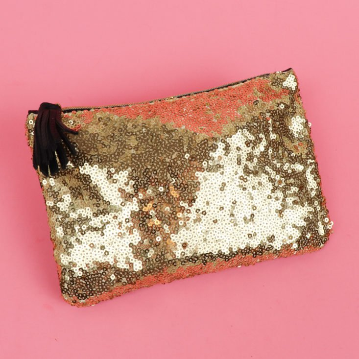 ipsy sequined bag