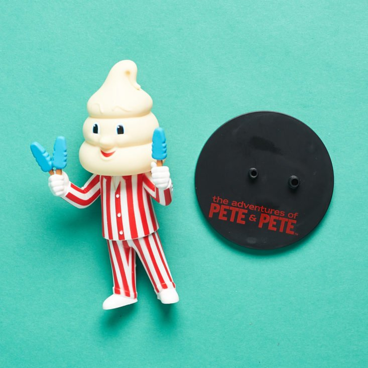 The Nick Box by Culturefly December 2018 - Mr.Tastee Vinyl Figure With Stand Top