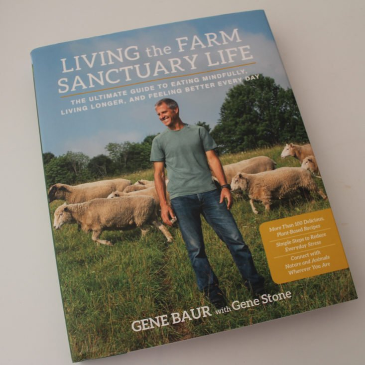 All Around Vegan Review January 2019 - Living the Farm Sanctuary Life by Gene Baur with Gene Stone 1 Top