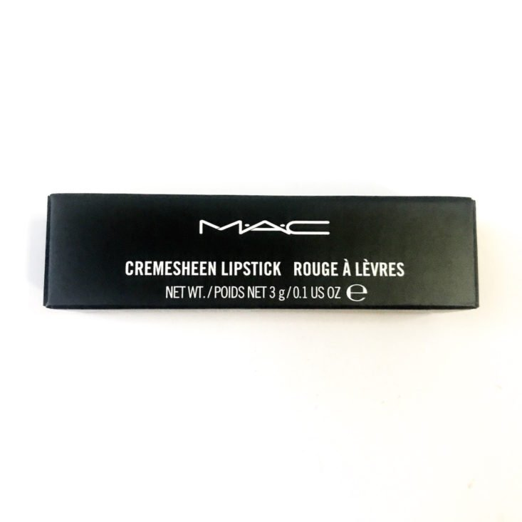 Birchbox The Best-Sellers Set January 2019 - M·A·C Cosmetics Cremesheen Lipstick In Crosswires Close Top