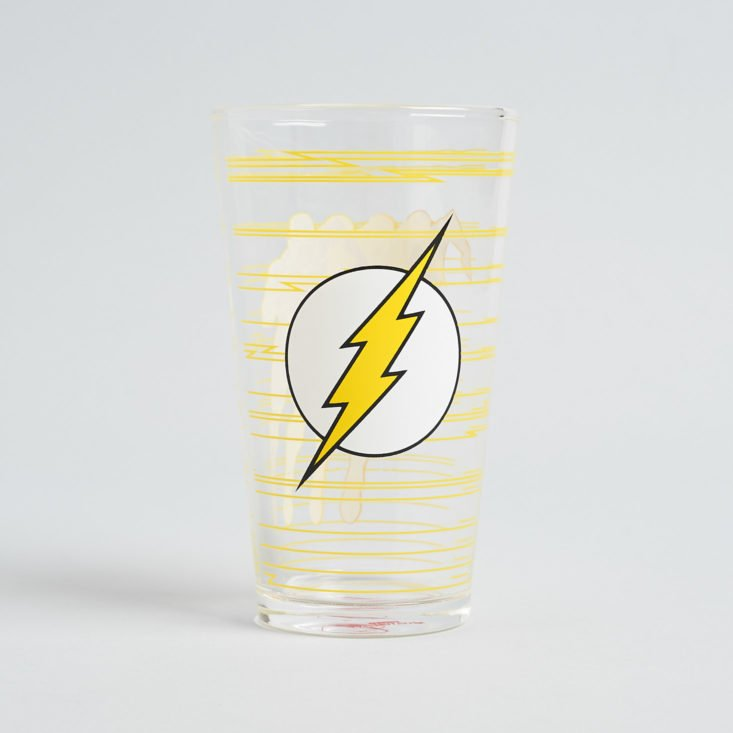 DC Comics Worlds Finest Issue 6 The Flash - Pint Glass 18