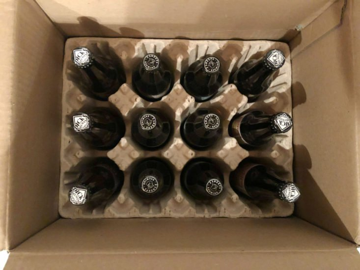 Microbrewed Beer January 2019 - Box Open
