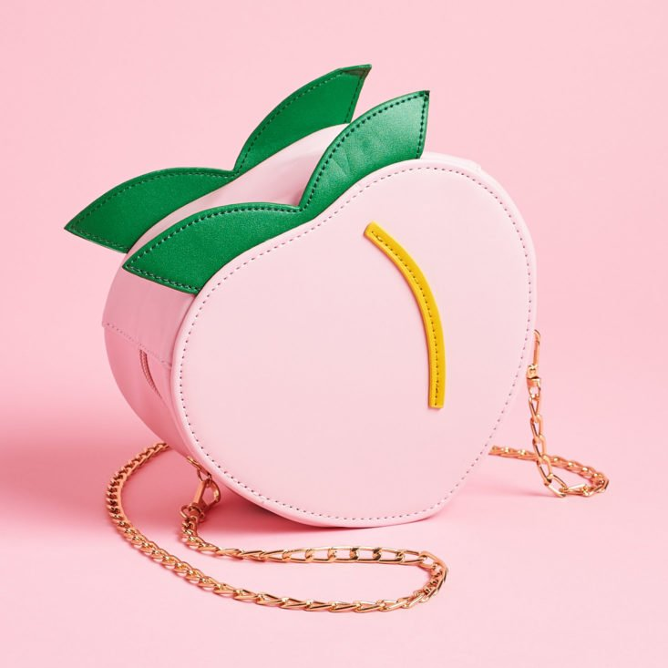 Quirky Crate peach bag