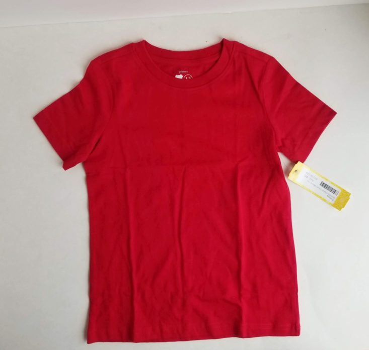 Stitch Fix Boys January 2019 red tee
