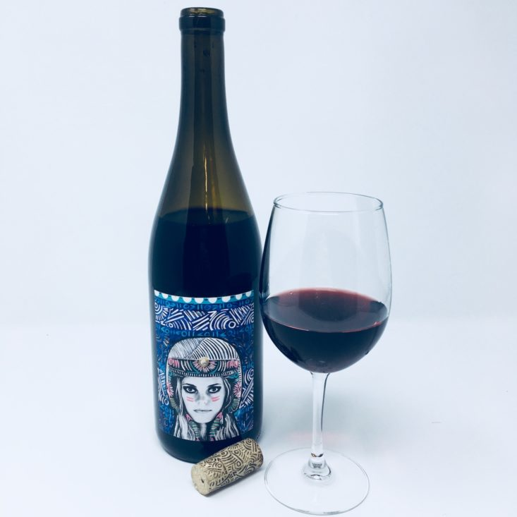Winc Wine of the Month Review January 2019 - FUNK ZONE FULL BOTTLE + GLASS