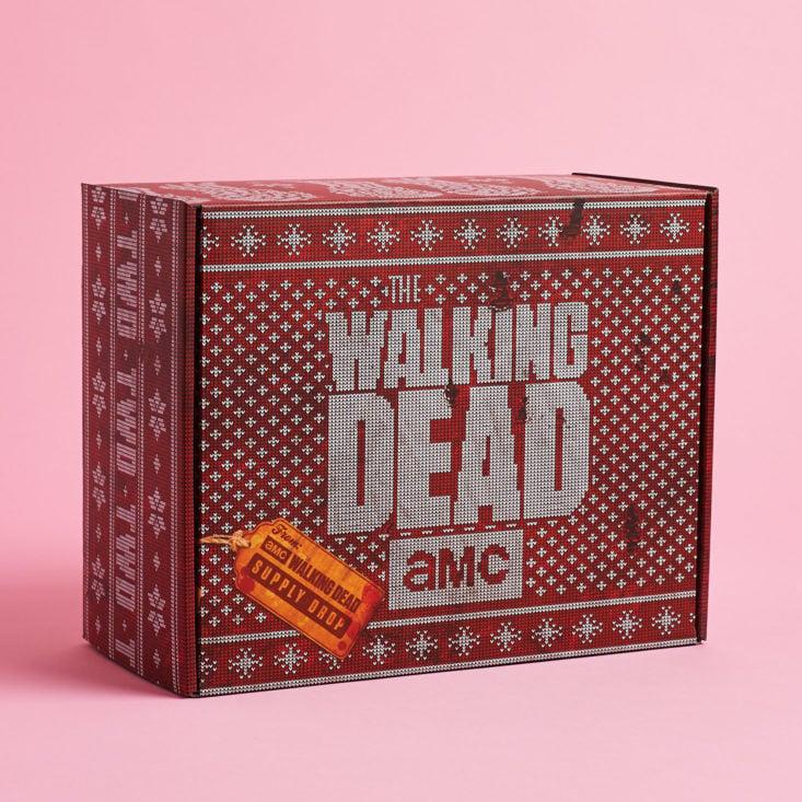 The Walking Dead Supply Drop February 2019 inner box